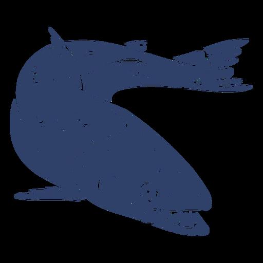 Pez ártico azul