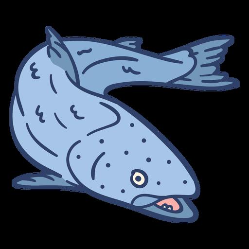 Ilustración de peces árticos