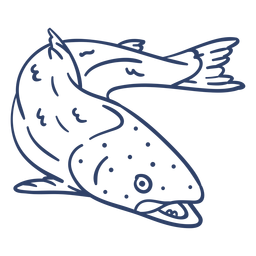Arctic fish stroke