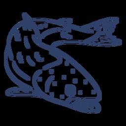Curso de peixe ártico