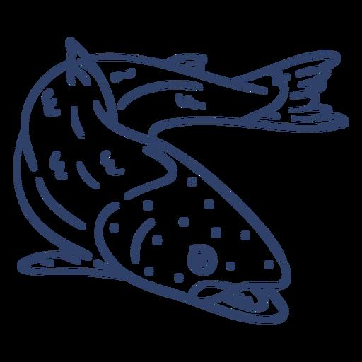 Golpe de pez ártico