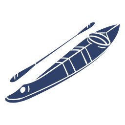 Arctic kayak blue