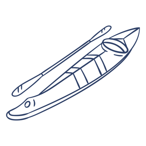 Arctic kayak stroke