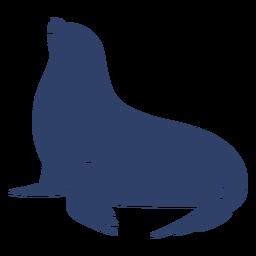 Sello ártico azul