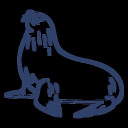 Arctic seal stroke