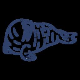 Arctic walrus stroke