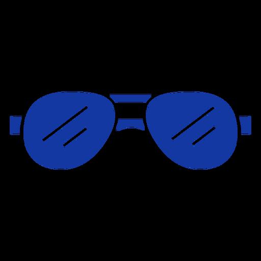 Aviator sunglasses blue Transparent PNG