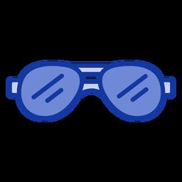 Gafas de sol de aviador planas