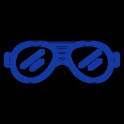 Gafas de sol de aviador accidente cerebrovascular