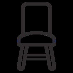 Stuhl vorne Hub