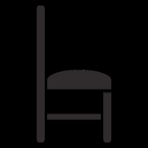 Chair side black - Transparent PNG & SVG vector file