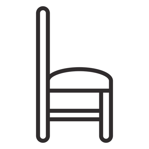 Chair side stroke Transparent PNG