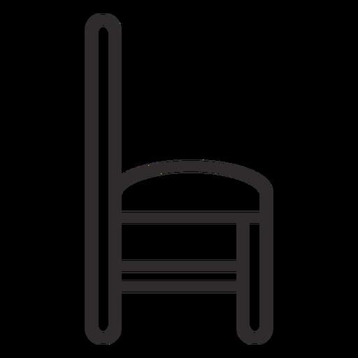 Golpe lateral de la silla