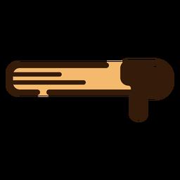 Churro mit Schokoladenikone