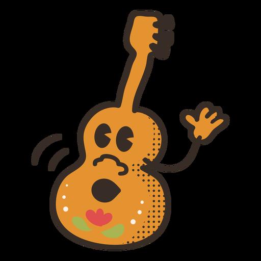 Cinco de mayo guitar character Transparent PNG