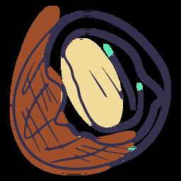 Coconut doodle