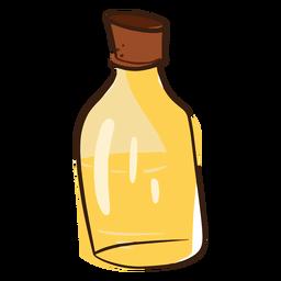 Doodle de aceite de coco