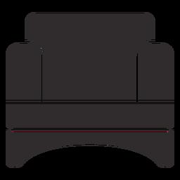 Confy Stuhl schwarz