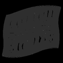Cotton swabs bathroom label black