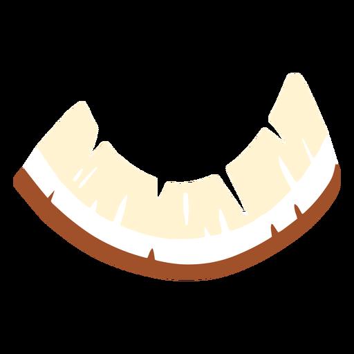Cortar el diseño de coco