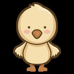 Lindo personaje de pollo