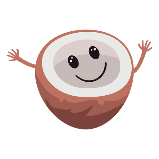 Lindo personaje de coco