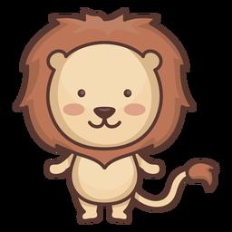 Lindo personaje de león