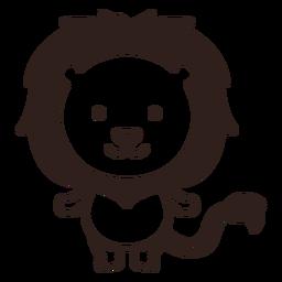 Lindo trazo de león