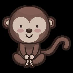 Lindo personaje mono
