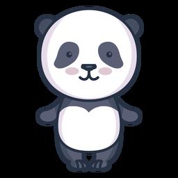 Lindo personaje panda