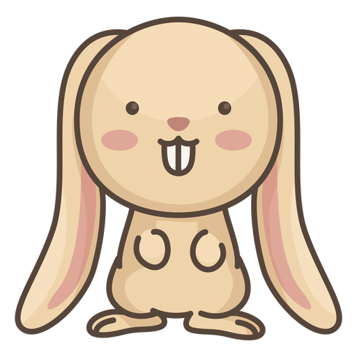 Cute rabbit character
