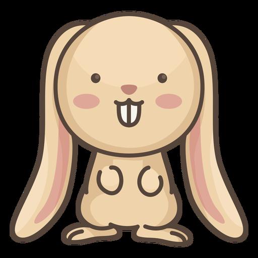 Lindo personaje de conejo