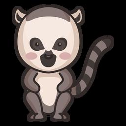 Lindo personaje de mapache