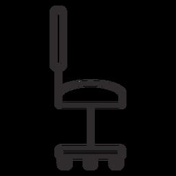 Carrera de silla de escritorio