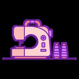 Máquina de coser doméstica plana