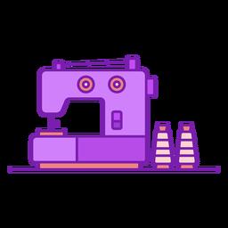 Máquina de coser electrónica plana