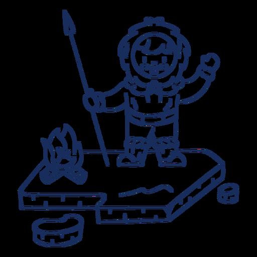 Golpe de niño esquimal Transparent PNG