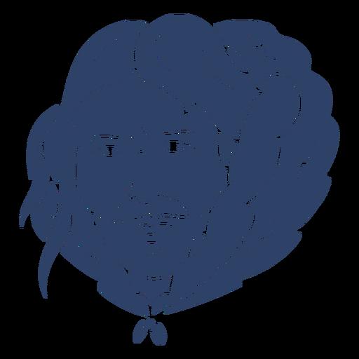 Esquimal hombre cara azul Transparent PNG