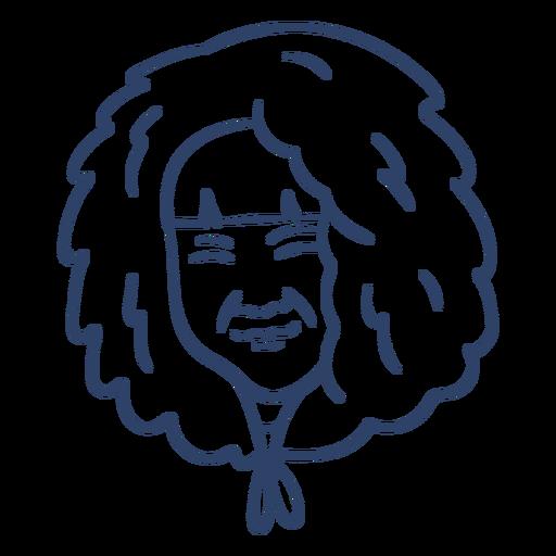 Eskimo alte Frau Gesicht Schlaganfall Transparent PNG