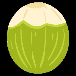 Diseño de coco verde