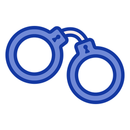 Handcuffs police flat