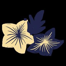 Hawaiianische Blumen