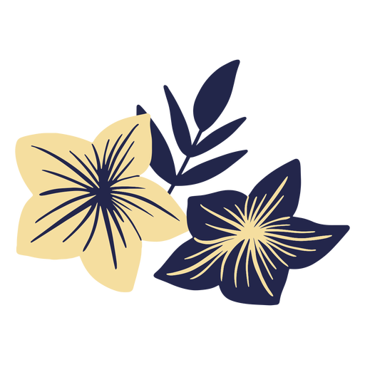 Flores hawaianas Transparent PNG