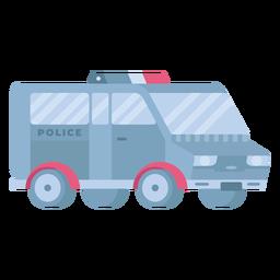 Police van flat