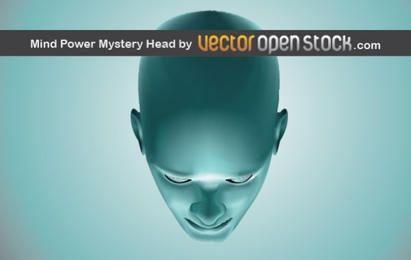 Cabeça do Mistério Poder da Mente