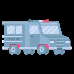 Riot control police car flat