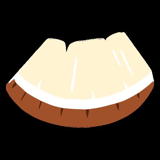 Sliced coconut design
