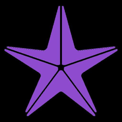 Starfish purple
