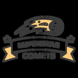 Golpe de insignia de cometas superestrella