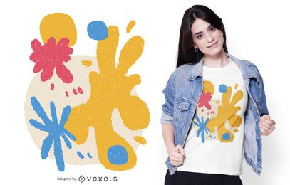 Paint Splash T-shirt Design